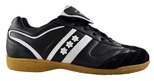 Rucanor Chaussures de Champ dans Unisexe Noir/Blanc Taille 38
