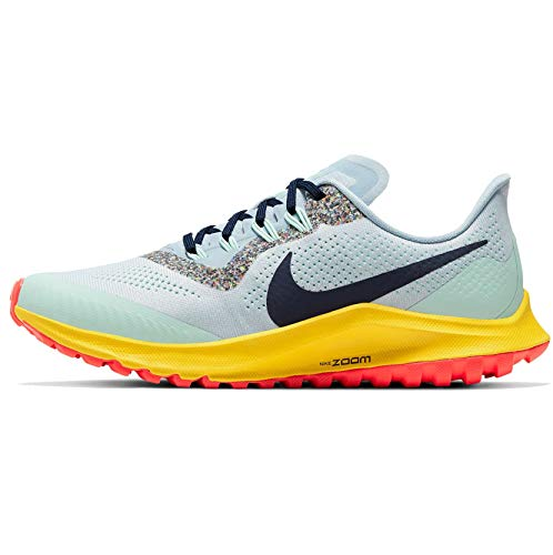 Nike Women's Wmns Air Zoom Pegasus 36 Trail Running Shoes,Gray (Oil Gray / Barely Gray-Black-Wolf Gray 2),7.5 UK,42 EU