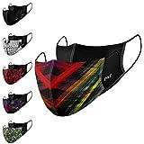 P.A.C. Lightweight 2er-Pack Premium Community-Maske, Mund- & Nasenmaske, Behelfsmaske, superdünne...