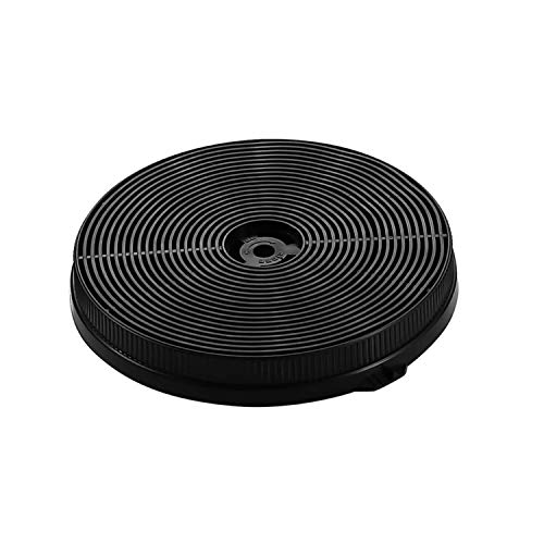Carbon Filter (CF-A) for SNDOAS Under Cabinet Range Hood Model GF23 TF23, Round Filter,Replacement Charcoal Vent Filter