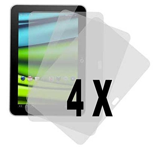 Theoutlettablet® Pack 4 Protectores de Pantalla para Tablet Bq Aquaris M10 10.1