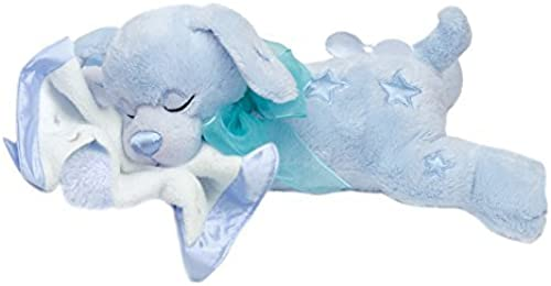 First & Main Snoozee Sammee Sleeping Stuffed Blau Dog by First & Main