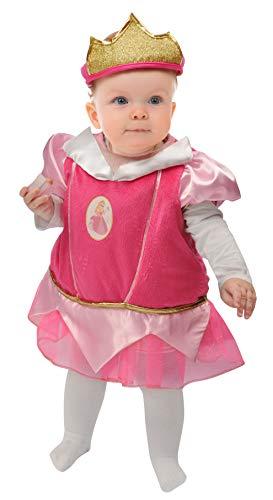 Ciao-Baby Principessa Aurora costume fagottino Disney Princess, 6-12 mesi Bambini, Rosa, 11259.6-12