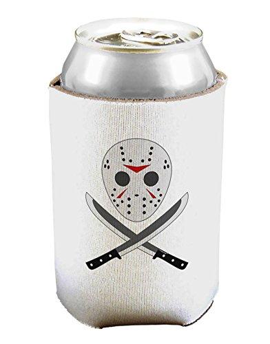 Scary máscara con machete – Halloween puede y botella