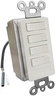 X10 PRO XPT4-W-NS PRO 4-Button Keypad Plus Transmitter Base Kit