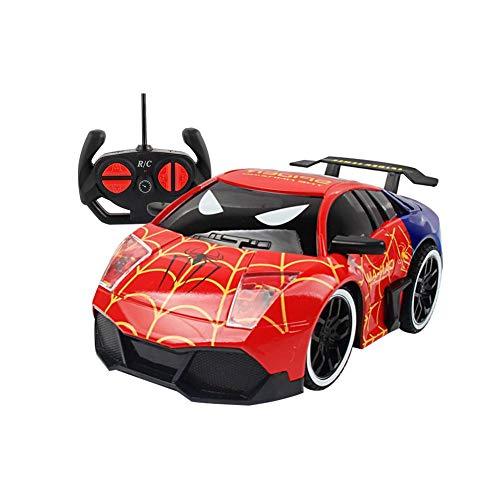 Hifuture kinder spielzeug auto,Superhelden-Typ Mini RC Auto Fernbedienung Micro Racing Auto Elektrische Spielzeug, Fahrzeuge Geschenk für Jungen Mädchen Kinder Kleinkinder(Spiderman)