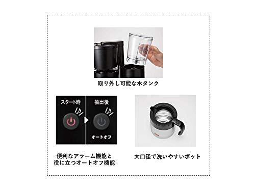 Melitta(メリタ)ALLFI(オルフィ)【2-5杯浄水フィルター付】ブラックSKT521B