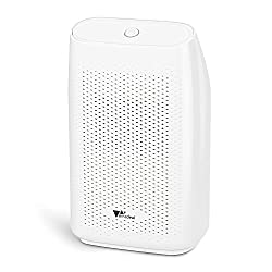 Amzdeal dehumidifier, 700ml electric dehumidifier Safe and efficient, lighter against moisture and mold in the bedroom and bathroom