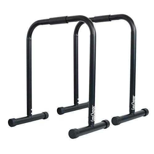 EASY CHANGE ディップスタンド ディップススタンド dip stand dip station 耐荷重180kg (ブラックver.3)/biyou-dipsxx-black3