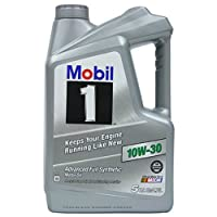 Mobil 1 (112796 10W-30 Synthetic Motor Oil - 5 Quart