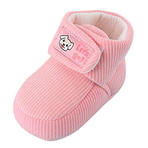Zapatos Bebe Invierno, Botines bebé recién Nacidos Niña Niño Botas Zapatos Calientes...