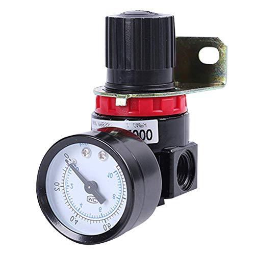 Válvula reguladora de alivio del manómetro del compresor de control de aire AR2000 con manómetro