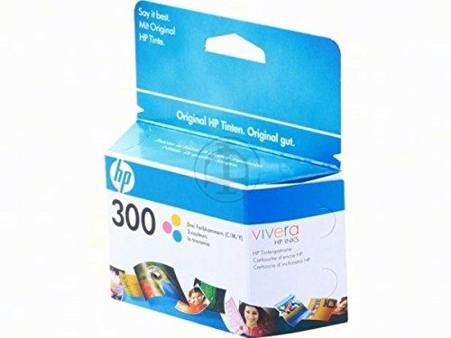 HP - Hewlett Packard DeskJet F 4210 (300 / CC 643 EE) - original - Druckerpatrone (cyan, magenta, gelb) - 165 Seiten - 4ml