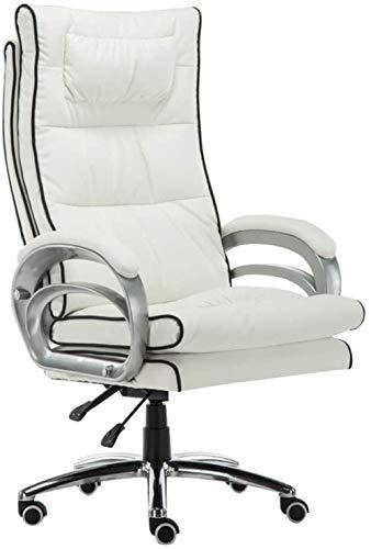 Gaming Chair Bürodrehstuhl mit Massage Lordosenstütze High Back Computer Stuhl Sessel