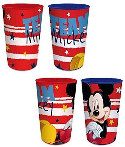 Mickey Mouse - Juego de 4 vasos