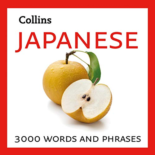 Couverture de Learn Japanese: 3000 Essential Words and Phrases