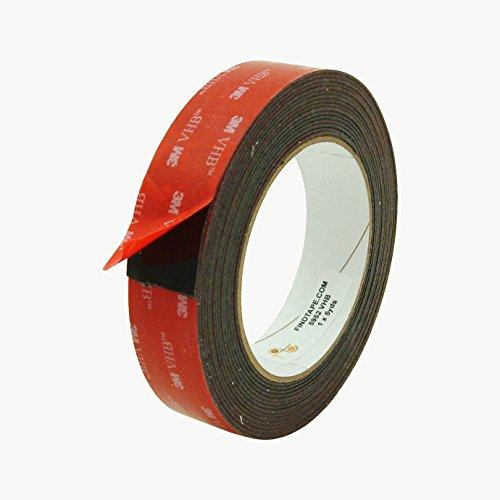 3M Scotch 5952 VHB Tape: 1 in. x 15 ft. (Black)