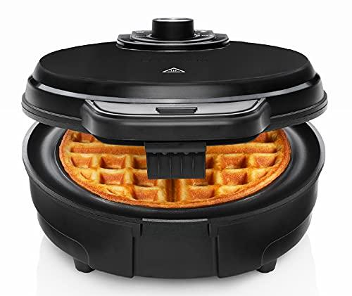 Chefman Anti-Overflow Belgian Waffle Maker w/Shade Selector, Temperature Control, Mess Free Moat,...