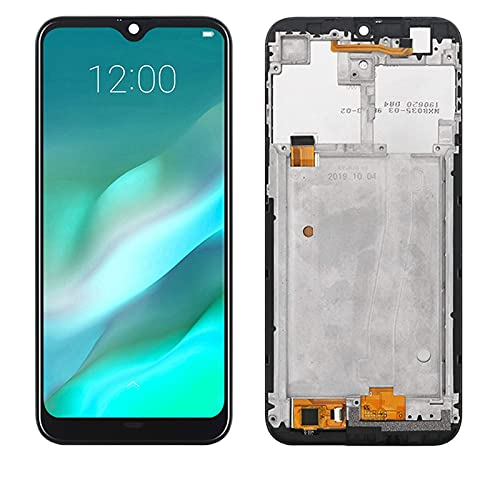 Accessory Kits - Pantalla táctil original de 6,1 pulgadas+pantalla LCD de 1280 x 600 reemplazo de montaje para Doogee Y8 Android 9.0 reemplazo de la pantalla del teléfono (color: con marco)