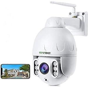 SV3C WiFi PTZ IP Camera Outdoor Security Camera