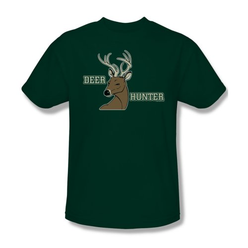 Deer Hunter - Männer T-Shirt In Jäger-Grün, XXX-Large, Hunter Green