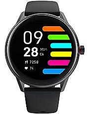 [Volledig touchscreen] Smartwatch voor heren en dames, smart fitnesstracker, horloge, hartslagfrequentie, IP68 waterdicht, slaapzwemmen, sporthorloge, tracker, horloge met muziekbesturingsfunctie voor Android iOS telefoons