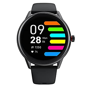 SoundPEATS Smart Watch Fitness Tracker for Men Women Smartwatch with Heart Rate Monitor Sleep Quality Tracker for iPhone Android Phones Customizable Watch Faces IP68 Waterproof Full Touch Screen