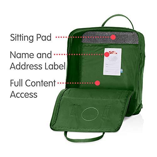 Fjallraven Men's Kanken Backpack, Leaf Green, One Size