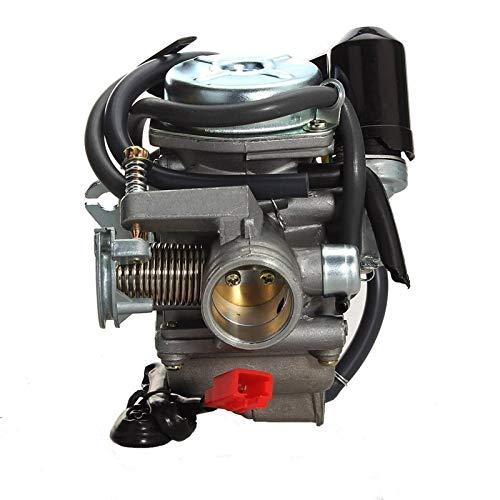 Carburador Carburador de Cuatro Tiempos Auto Motocicleta Scooter Carb 110cc 125CC 150CC GY6 ATV Go Kart Roketa Taotao Bore 24mm para Y&amaha