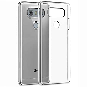KEEPCA Compatible with LG G6 case,LG G6 Plus Phone Case Slim Thin Soft Skin Silicone TPU Gel Lightweight Anti-Scratch Protective Cases Cover for LG G6,Crystal Clear