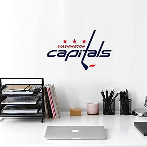 Pegatina con el logotipo de Washington Capitals Pegatina del cuerpo de Washington Capitals