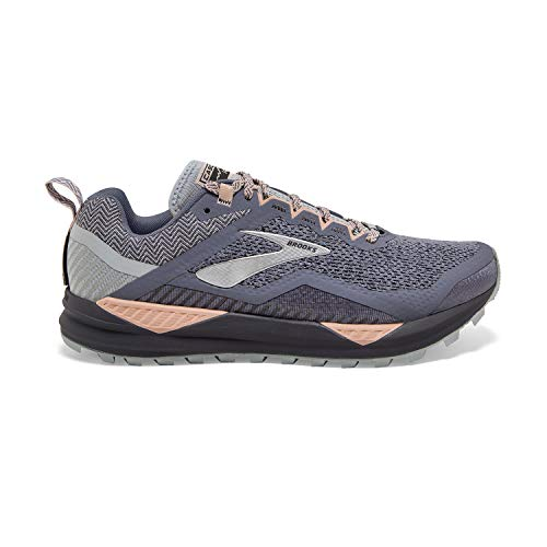 Brooks Cascadia 14 Grey/Pale Peach/Pearl 8.5