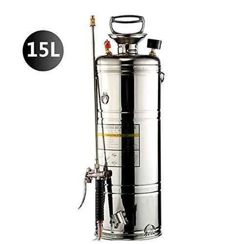 Drukspuit / 15L, 304 Roestvrij Staal Knapzakvernevelaar 2 Sproei-Modus Irrigatie Gieters Voor Thuis Tuinieren En Landbouw