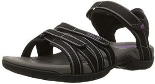 Teva Women's Tirra Athletic Sandal 8 B M US Black Grey