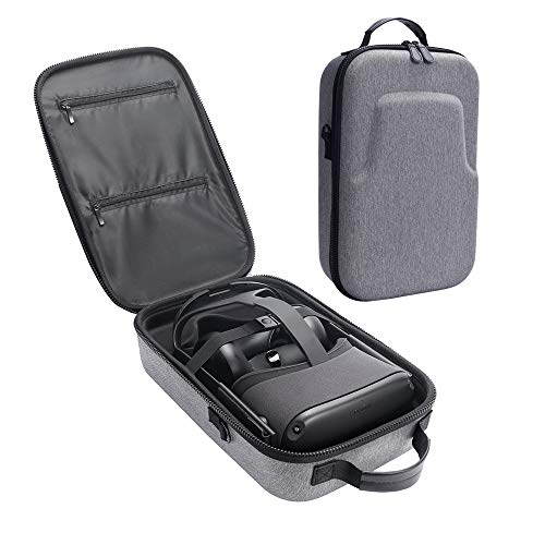 Carplink Hard Eva Hülle for Oculus Quest All-in-one VR Gaming Headset Protective Hülle Hand Carry Bag