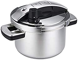 Meyer Stainless Steel Single Hand High Pressure Cooker