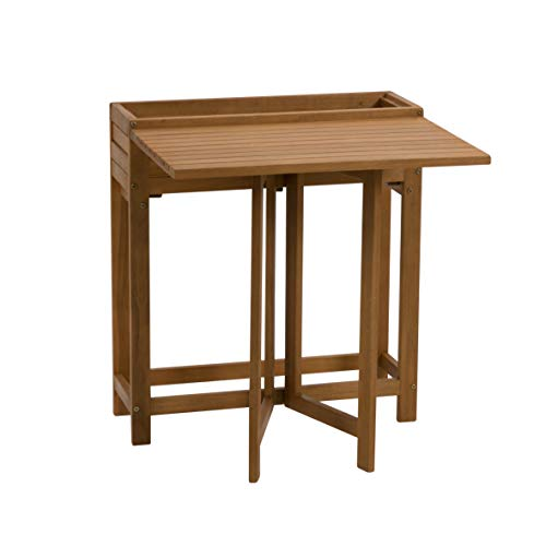 greemotion balkon klaptafel Borkum, acaciahout FSC® 100%, 70 x 77 x 67 cm