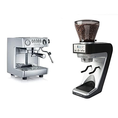 Graef ES850EU Espressomaschine, 2.5 liters & Baratza Sette 30   Elektrische Kaffeemühle, Kunststoff