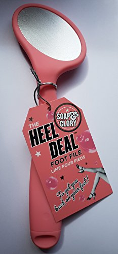 Soap & Glory The Heel Deal Tampon pour pieds Rose