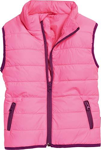 Playshoes Unisex Kinder Steppweste Weste, Rosa (Pink 18), 74