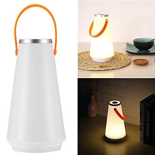 ONEVER Lampe de table de nuit sans fil LED à la maison USB Interrupteur tactile rechargeable Commutateur de lumière pour camping extérieur (2pcs) (1PCS)
