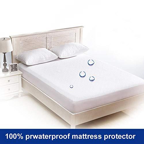 100% waterdicht matrasbeschermer premium hypoallergene Terry matrashoes hoeslaken elastische band Twin volledige koningin koning