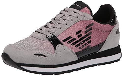 Emporio Armani Calzado Deportivo Mujer X3X058 XM510 para Mujer Gris 40 EU