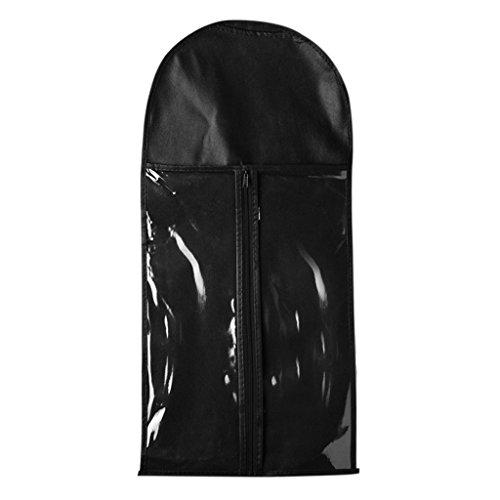 Sharplace 30 Pcs Sac de Protection Perruque, Housse de Rangement de Séchage Perruques (noir)