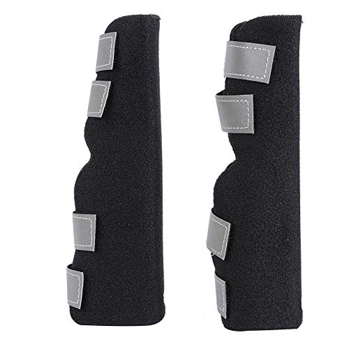 Kniebandage für Hunde, 1 Paar Sprunggelenk Schutz Bandage Gelenkbandage Stützbandage für Schützt Wunden und Hilft bei Gelenkentzündung und Arthritis(XS)