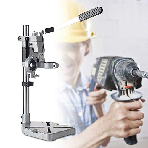 Why Should You Buy Drill Press Stand Universal Bench Workstation Clamp Drill Press Holder Adjustable...