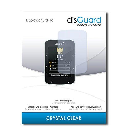 disGuard Displayschutzfolie für Garmin Edge 520 [4 Stück] Crystal Clear, Kristall-klar, Unsichtbar, Extrem Kratzfest - Displayschutz, Schutzfolie, Glasfolie, Panzerfolie