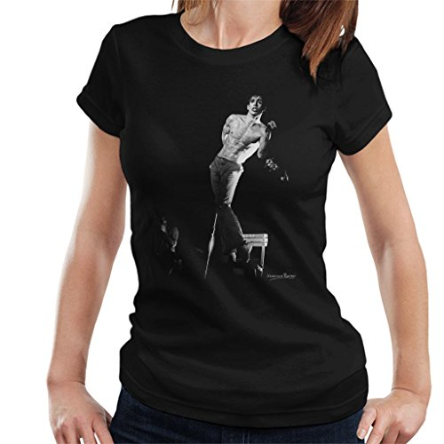 Howard Barlow officiële fotografie - Iggy Pop Manchester Apollo 1977 vrouwen T-shirt
