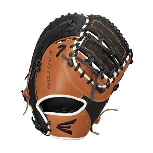 """EASTON PARAGON YOUTH First Base Baseball Glove   2020   Right-Hand Throw   12.5""""   First Base Mitt   Dual Bar Web   Select Cowhide Leather + Palm   Super Soft Palm Lining Enhances Grip   P3Y"""