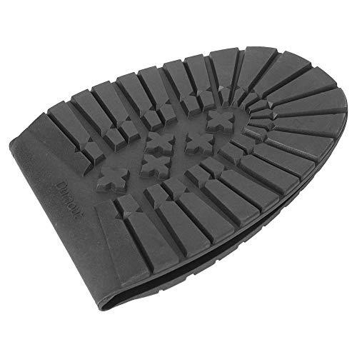 Aufee Ersatz für die Reparatur von weichen Schuhen, Ersatz für die Reparatur der gesamten Schuhsohle, für Sportschuhe Reparaturschuhe Lederschuhe(Black Forefoot)